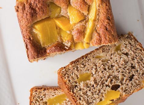 Bananenbrood met mango