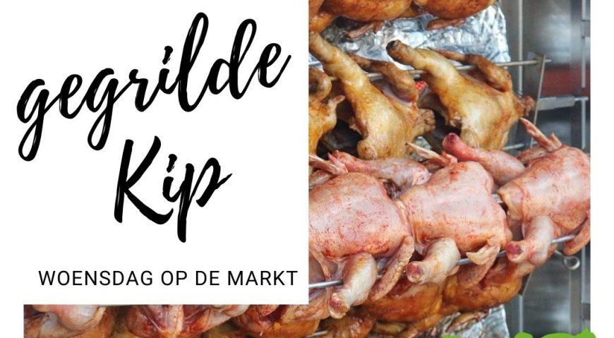 Nieuw op de markt in Berlicum op de Woensdag Gegrilde Kip