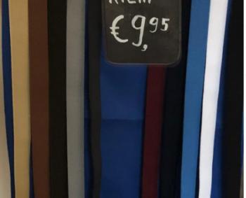 Gesploze elastische riemen €9,95 bij tieboschkleinvak